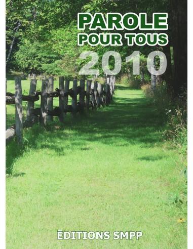 Paroles pour tous 2010