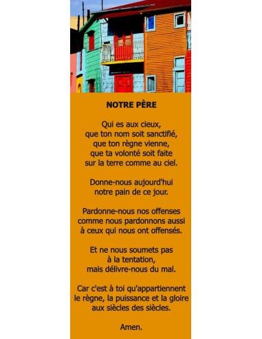 Signet maison colorée