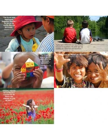 Cartes postales - Pack enfants