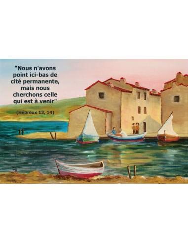 Carte postale - Port de Pèche (réf. 0067)