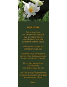 Signet - Lis blanc (réf.0149)