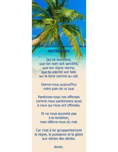 Signet - Plage tropicale (réf.0167)