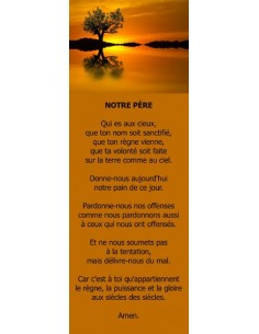 Signet - Arbre au couché du soleil (réf.0173)