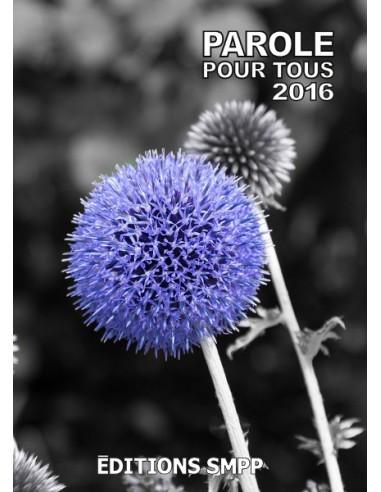 Brochure Parole Pour Tous 2016