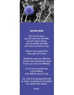 Signet - Chardon bleu (réf.0187)